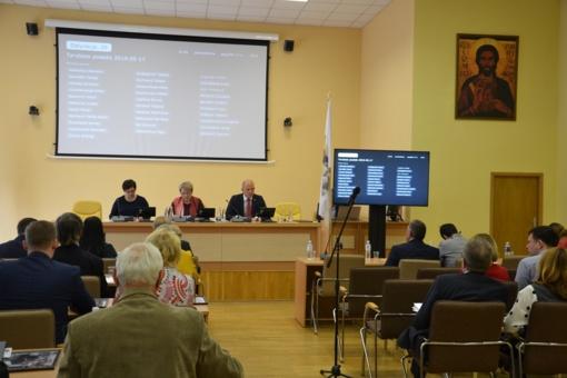Vyko Vilniaus rajono savivaldybės tarybos posėdis