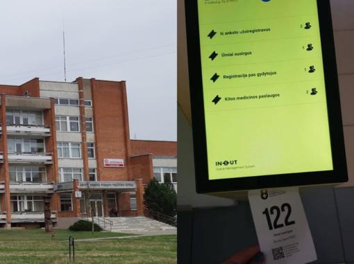 Širvintų rajono pirminės sveikatos priežiūros centre įdiegta pacientų eilių valdymo sistema