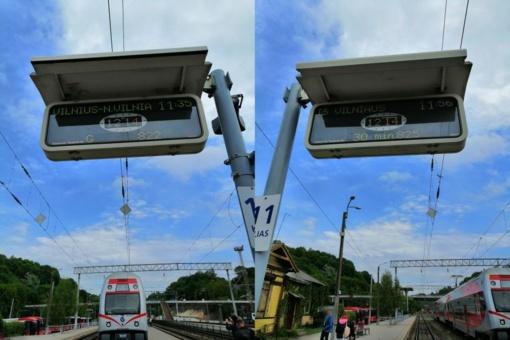 Kauno geležinkelio stotyje sustabdžius bilietų prekybą keleiviai buvo palikti nežinioje
