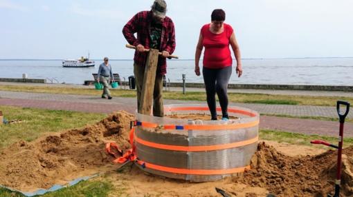 Juodkrantės bendruomenė ruošiasi smėlio skulptūrų simpoziumui