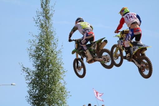 Šiauliečiai Europos motociklų kroso čempionate grožėjosi įspūdingais vaizdais (fotogalerija, vaizdo įrašas)