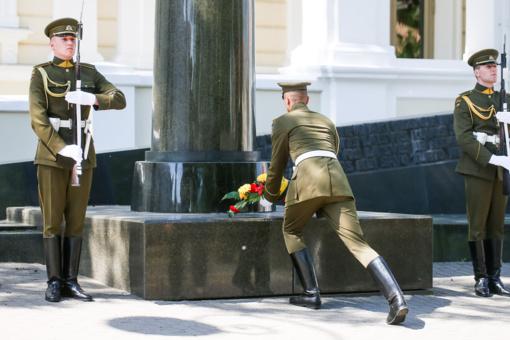 R. Karoblis: visuomenės ir kariuomenės vienybė - geriausias partizanų atminties įamžinimas