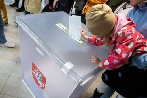 Prasideda balsavimas iš anksto prezidento rinkimų antrajame ture, EP rinkimuose