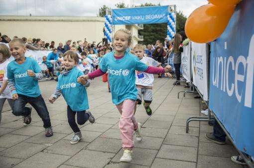 Unicef vaikų bėgimas Klaipėdoje