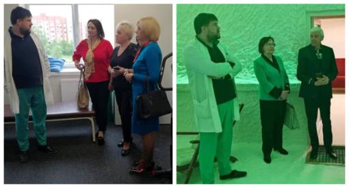 Tarybos nariai lankėsi Molėtų ligoninėje