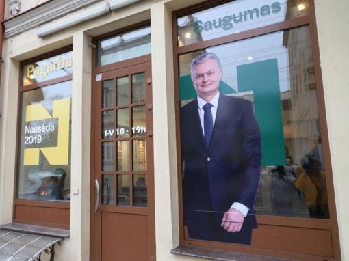 G. Nausėdos štabas apie I. Šimonytės rinkimų kampaniją: kur jie tiek daug išleidžia?