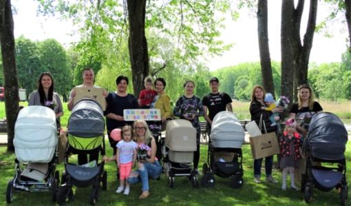 Skuodo miesto parke – šeimų bendrystė