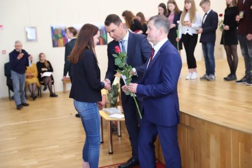 Pagerbti Kauno rajono mokyklų olimpiadų ir konkursų laimėtojai (nuotraukos)