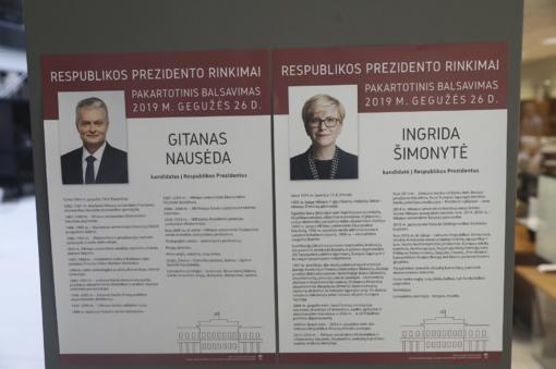 Patvirtinti galutiniai rezultatai: G. Nausėda gavo 66 proc., I. Šimonytė – 33 proc. balsų