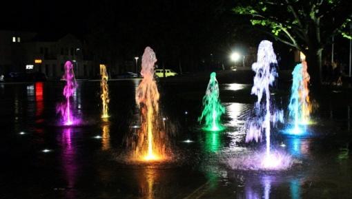 Keletą dienų neveiks Vilkaviškio miesto fontanas