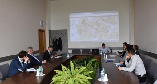 Savivaldybėje – pokalbis su verslininkais apie pramonės rajono infrastruktūros gerinimą