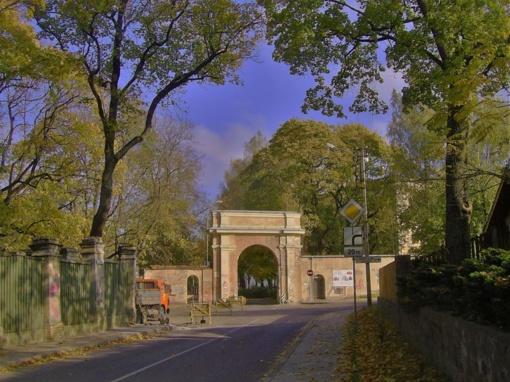 Po pertraukos tęsiamas Vilniaus Sapiegų parko atnaujinimas
