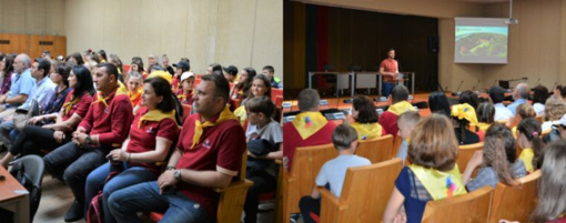 Tarptautinio projekto dalyviai svečiavosi Jurbarko rajono savivaldybėje