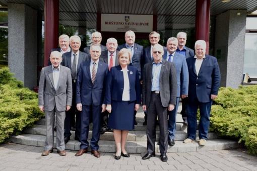 Lietuvos merų klubo suvažiavimas Birštone