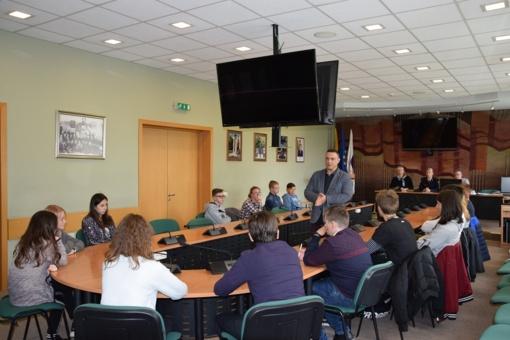 Moksleiviai pasitikrino civilinės saugos žinias