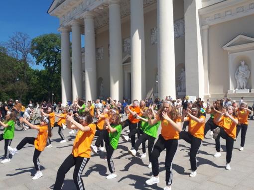 Sekmadienį Vilnius klegėjo  šeimų šventės garsais