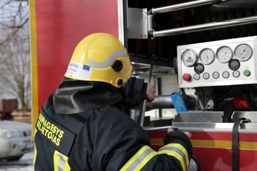 Rūsyje kilus gaisrui medikams teko apžiūrėti namo šeimininką