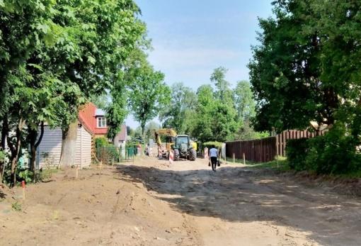 Pradėta J. Nastopkos gatvės rekonstrukcija