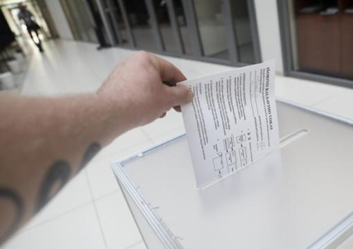 Lietuvoje tęsiasi išankstinis balsavimas