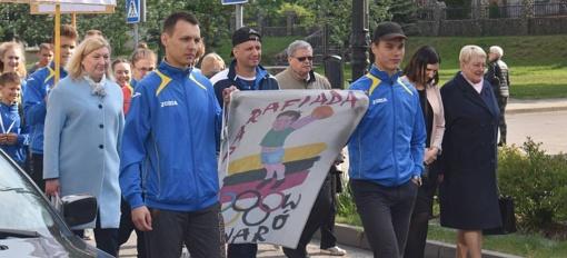 """Lentvaryje – XX Vaikų ir jaunimo sporto varžybos """"Parafiada"""""""