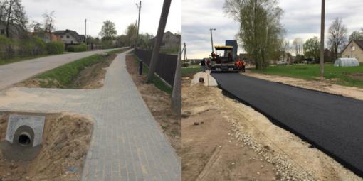 Rajone baigti įgyvendinti du projektai