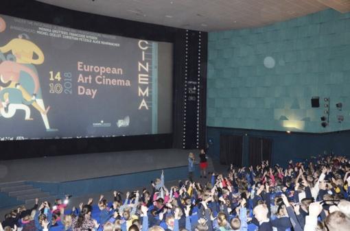"""Kino centras """"Garsas"""" jau 25 metus vaikus ir jaunimą supažindina su kino magija"""