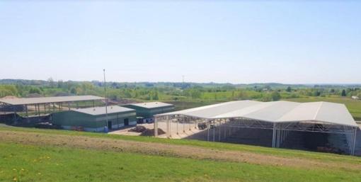 Didžiausia Alytaus regiono kompostavimo aikštelė uždengta stogine