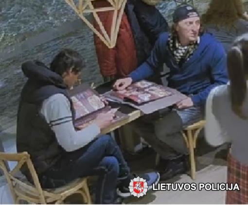 Pareigūnai prašo visuomenės pagalbos – atpažinti vagyste įtariamus vyrus