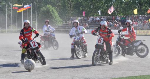 Tarptautinis motobolo renginys Kretingoje – gegužės 25–26 d.