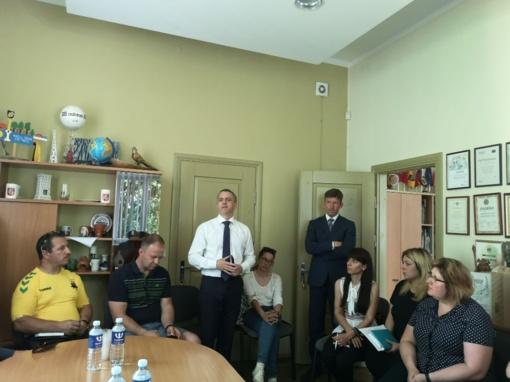 Savivaldybės vadovai susitiko su nevyriausybininkais