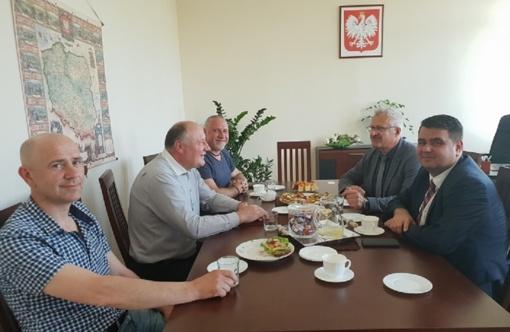 Susitikimas su Veglineco valsčiaus atstovais