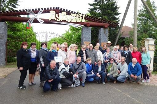 Tradicinių amatų ir kulinarinio paveldo atstovų viešnagė Baltarusijoje