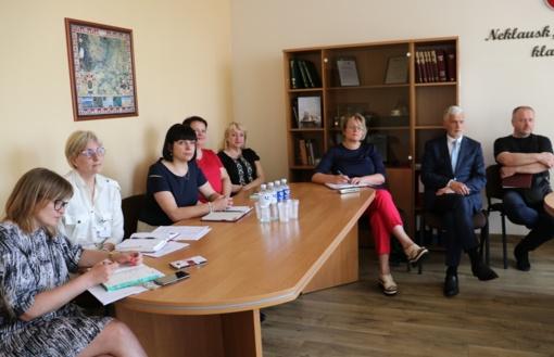 Diskutuota dėl bendruomenių rėmimo programos