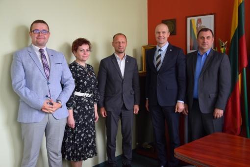 Su Marijampolės pataisos namų direktoriumi aptarti pokyčiai įkalinimo įstaigų sistemoje