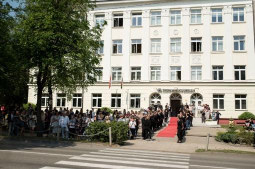 Simono Daukanto gimnazijos XIX abiturientų laidos Paskutinio skambučio šventė