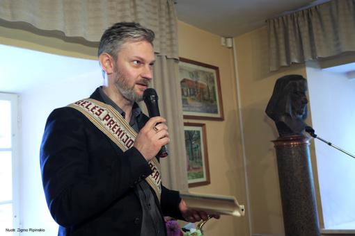 Įteikta 43-ioji Šiaulių rajono Zigmo Gėlės premija už pirmąją poezijos knygą