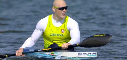 Du lietuviai pateko į pasaulio baidarių ir kanojų irklavimo taurės etapo finalą