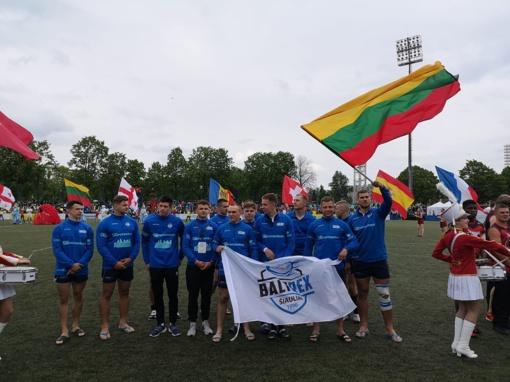 """""""Baltrex-Šiaulių"""" regbininkai - Europos Čempionų taurės ketvirtfinalyje"""