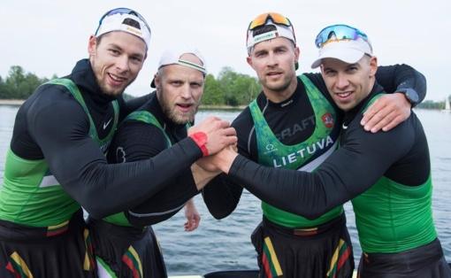 Dvi Lietuvos įgulos pateko į pasaulio baidarių ir kanojų irklavimo taurės etapo finalus