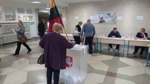 VRK: iki 10.00 val. balsavo 5,88 proc. rinkėjų