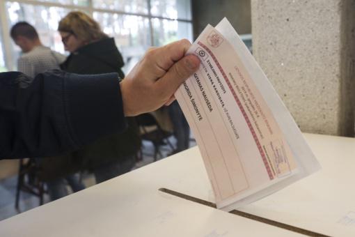 VRK: iki 14.00 val. balsavo 23,99 proc. rinkėjų