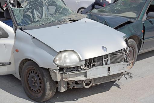 Vagys Marijampolėje siaubė automobilius