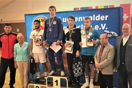 Imtynininkas V. Rafeenko laimėjo antrą tarptautinį turnyrą iš eilės