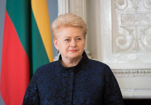 D. Grybauskaitė pasveikino G. Nausėdą