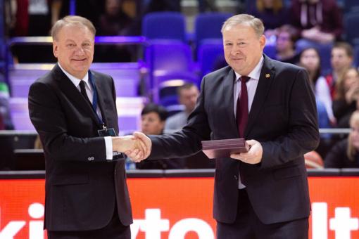 """""""Lietkabelio"""" prezidentas A. Bieliauskas: klubo planai tikrai nebus mažesni nei buvo"""