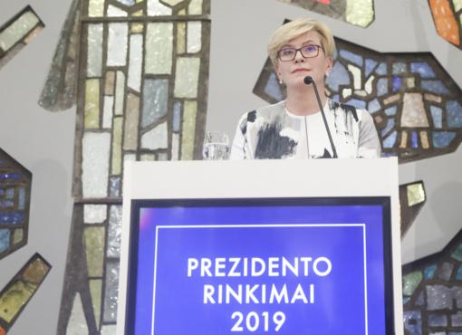 I. Šimonytė: rinkiminėje kampanijoje negalėjau sau meluoti ir daryti kompromisų su sąžine