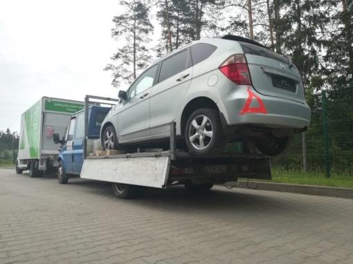 """Kirgizų gabentų """"Honda"""" registracijos liudijimai, įtariama, yra klastotės"""