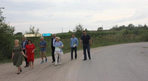 Svarbaus Šiaulių rajono kelio remontui Vyriausybė skyrė finansavimą