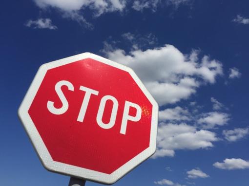 Aktuali informacija eismo dalyviams apie numatomus eismo apribojimus