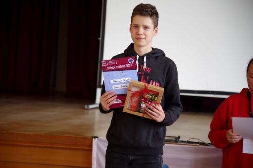 Šiaulių Simono Daukanto gimnazistai dalyvavo Robotikos varžybų sezono uždaryme